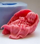 Малыш в крыльях (девочка) 3D силиконовая форма