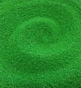 Песок кварцевый Зелёный 100г
