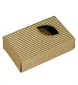Коробочка с окошком Лист (7х11х3см)
