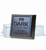 Тёмный шоколад форма пластиковая