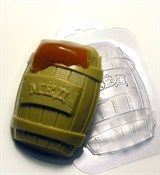 Бочка мёда форма пластиковая