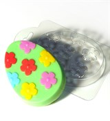 Яйцо с узором №4 форма пластиковая