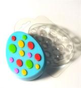 Яйцо с узором №3 форма пластиковая