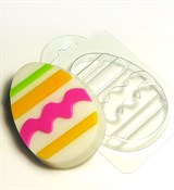 Яйцо с узором №1 форма пластиковая