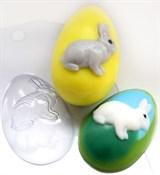 Яйцо Кролик форма пластиковая