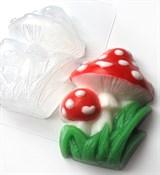 Мухоморы форма пластиковая
