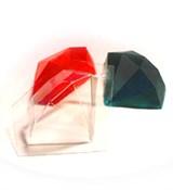 Драгоценный камень форма пластиковая