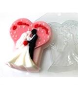 С Днём Свадьбы! форма пластиковая