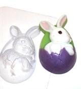 Кролик пасхальный форма пластиковая