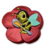 Весёлая пчёлка форма пластиковая