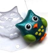 Сова форма пластиковая
