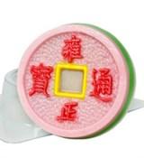 Монета Счастья форма пластиковая