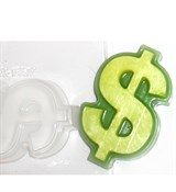 Доллар форма пластиковая