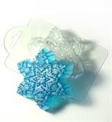 Морозная снежинка форма пластиковая