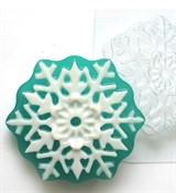 Снежинка2 форма пластиковая