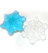 Снежинка кристальная форма пластиковая