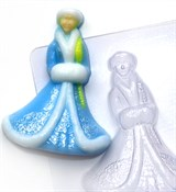Снегурочка2 форма пластиковая