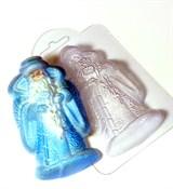 Дедушка мороз форма пластиковая