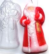 Дед мороз2 форма пластиковая