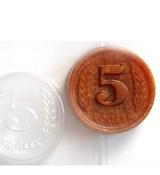 Пять копеек форма пластиковая