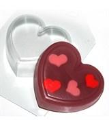 Сердце форма пластиковая
