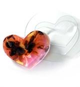 Сердечко форма пластиковая