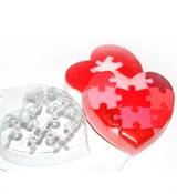 Любовный пазл форма пластиковая