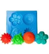 Цветы набор форма пластиковая