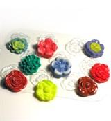 Цветочная поляна форма пластиковая