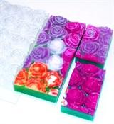 Розы под нарезку форма пластиковая