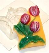 Тюльпаны форма пластиковая