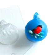 Шар Снегирь форма пластиковая