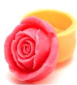 Роза 35  2D силиконовая форма