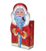 Коробочка подарочная Дедушка мороз 14,5*6,5*19,5см
