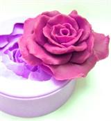 Роза 3D силиконовая форма