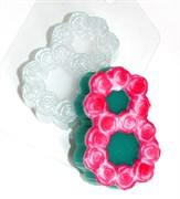 8 Марта Розы форма пластиковая