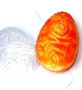 Яйцо Фактура роз форма пластиковая