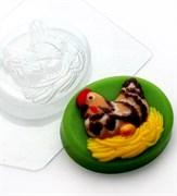 Курица на гнезде форма пластиковая