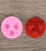 Клубника mini силиконовая форма (молд)