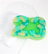 23 Февраля Плоское форма пластиковая