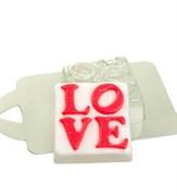 Квадрат LOVE форма пластиковая