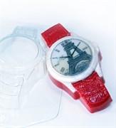 Часы наручные/Кожаный браслет форма пластиковая
