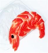 Креветка форма пластиковая
