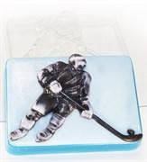 Хоккеист форма пластиковая