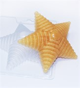 Звезда с погон форма пластиковая