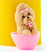 Маленький пёс3 3D силиконовая форма