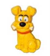 Собака с косточкой форма пластиковая