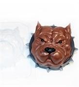 Серьёзный пёс форма пластиковая