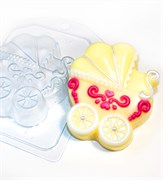 Коляска форма пластиковая