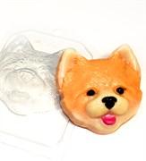 Морда щенка форма пластиковая